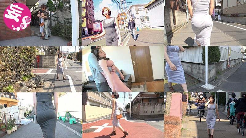 マキシワンピースを着た巨乳主婦やOLを尾行…着衣のまま中出しする極悪動画